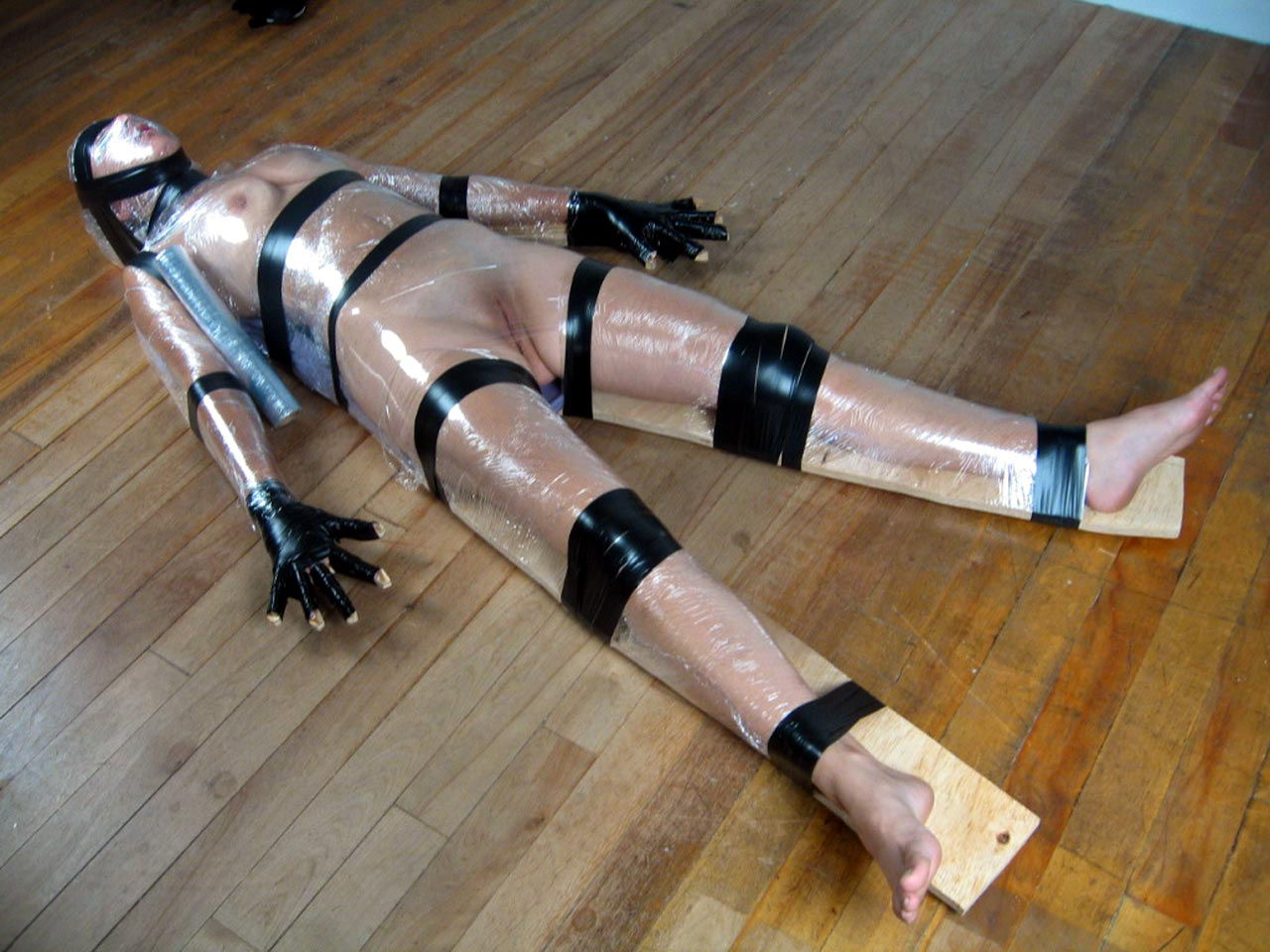 Remarkable, this Wrap bondage girl how