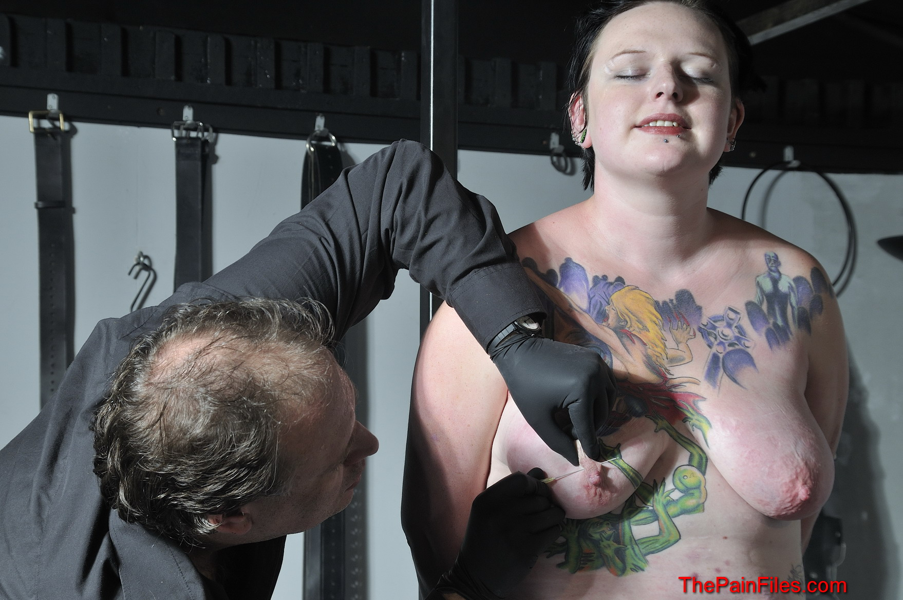 Huge tit clamping slapping and bondage - 5 9