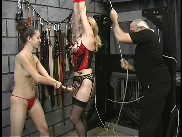 master-trains-bondage-babes-in-dungeon