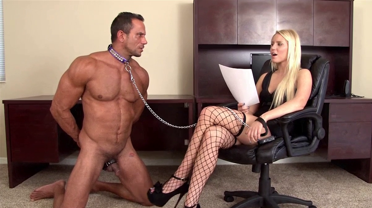 contracts submission domination Female male