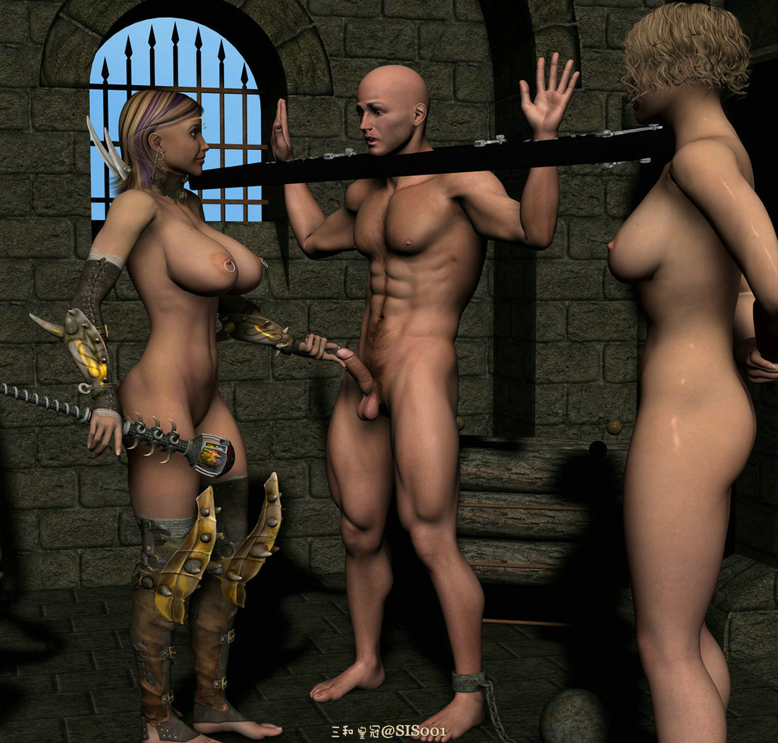 German doms put a strapon on the menu - 3 part 3