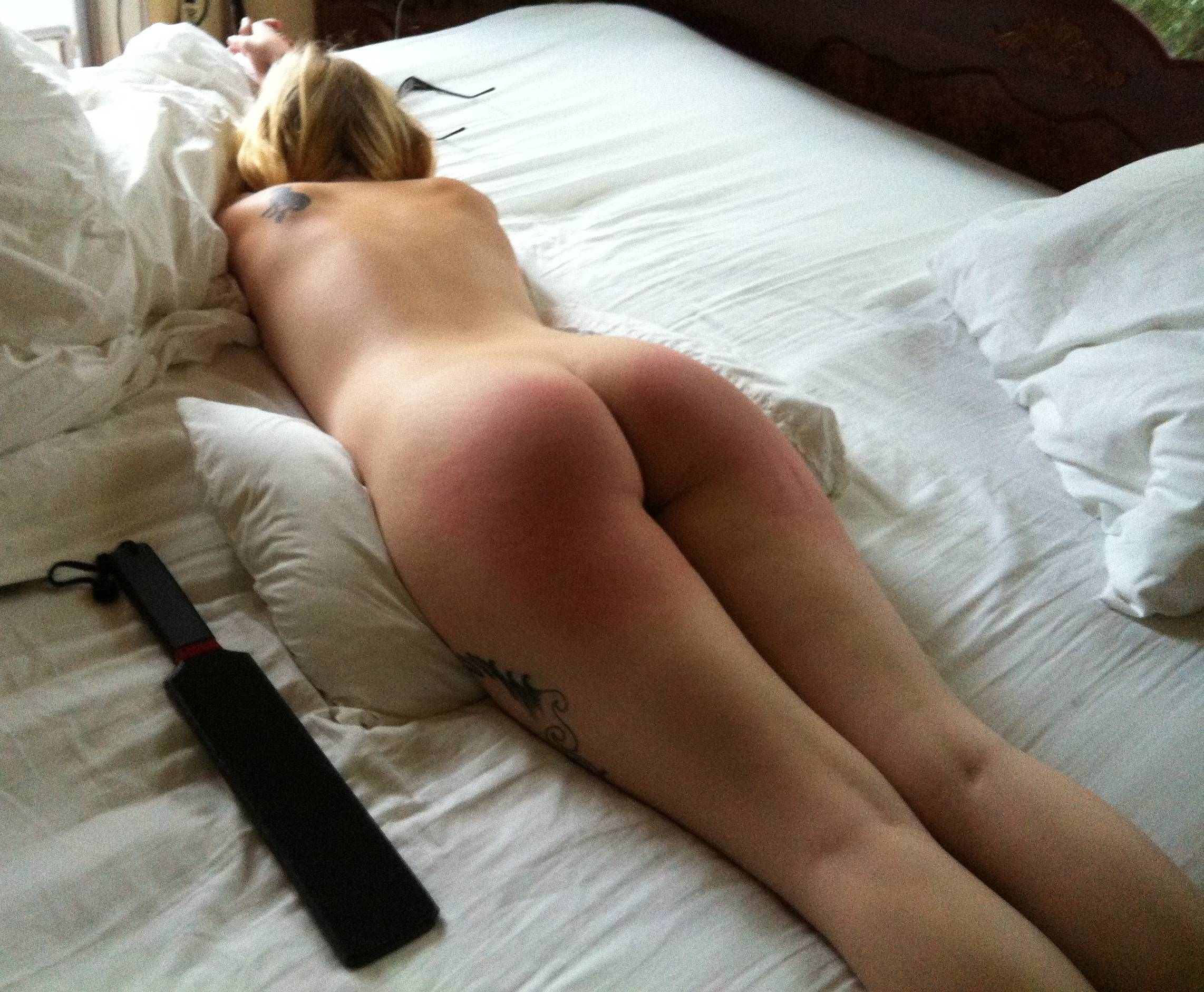 Dream spanking paddle story anal but
