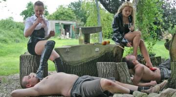 Outdoor FemDom BDSM Story