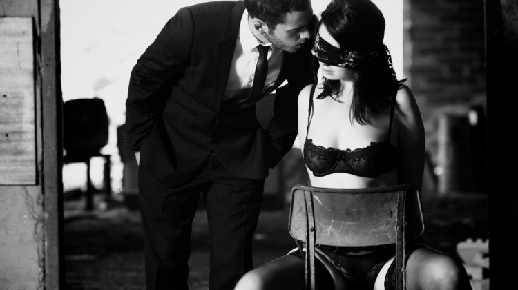 submissive woman
