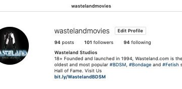 wasteland instagram